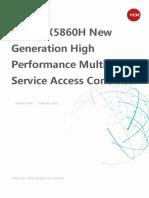 H3C WX5860H Access Controller Data Sheet - Updated