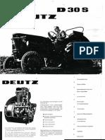 Deutz D30S Original