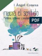 HACIA EL SENTIDO. Metáforas, Reflexiones y Pinceladas Educativas - MIGUEL ANGEL CONESA FERRER
