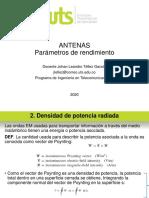 5. PARÁMETROS DE RENDIMIENTO