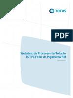 TOTVS RM - MIT041 - Especificação de Processos - Folha de Pagamento v1