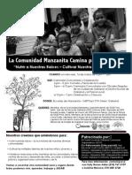 Manzanita Community Walk Leaflet Spanish 3.16.11