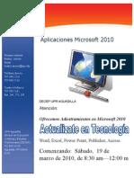 Curso Corto de Microsoft Office 2010