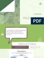 la vida en el paleolítico