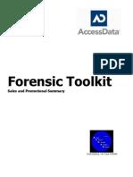 Forensic Toolkit