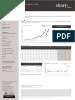 Sharp Equity Value Institucional FIA janeiro 2021 - XP