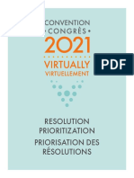 NDP 2021 Priority Resolutions