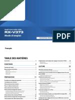 mode d'emploi_RX-V373