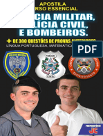 Pm, Pc e Bombeiro 2017
