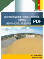 Symposium2016 7 Ccbr Le Developpement de l Hydroelectricite Au Cameroun