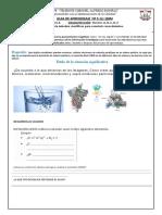Ficha Sobre Enlace Quimico-sesion 5