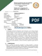 DERECHO AMBIENTAL II 2019 II