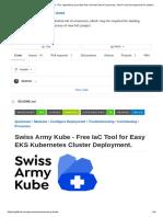 Provectus Swiss Army Kube