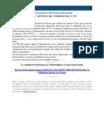Corte Di Cassazione n 2735 2011