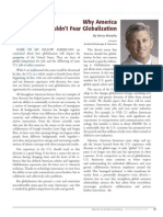 Diversity Journal   Why America Shouldn't Fear Globalization - Jan/Feb 2010