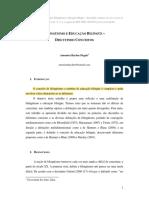 (FIC) BILINGÜISMO E EDUCAÇÃO BILÍNGÜE - discutindo conceitos