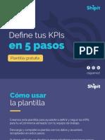 Define Los KPIS de Tu ECommerce. Plantilla Gratuita