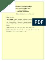 Metodo Sintetico Filipenses - Gabriel Robles