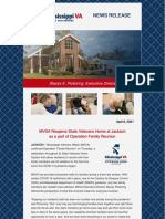Veterans MSVA Launches Operation Family Reunion - Jackson Home