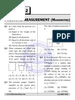Chapter 2 Pressur Measurment