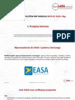 ZNSTS-01 I. Przepisy Lotnicze