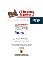 PSD e Lavoro. Workshop 29 Marzo 2011