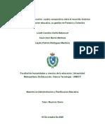 Cuadro Comparativo Administración y Educación Colombia-panama