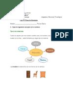 Guia N°2 Tipos de materiales Educ Tecnologica tercero basico