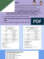 week of april 12 activities maltz