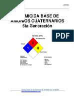 FDS Amonio Cuaternario