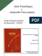 PAIC_CINDA_2_Unidad_1 Gestion tecnologica y desarrollo universitario