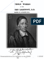 Whole Works of John Lightfoot  Vol. 03 of 13