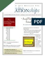 Relationships 2 Eccl 4-9-10 Handout 031311