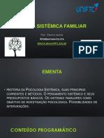 apresentação  teoria sistêmica