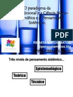 Aula 5- Paradigma, Pensamento Sistemico(1)