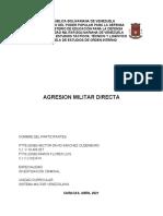 2 EVALUACION TRABAJO GRUPAL AGRESION MILITAR DIRECTA 9 ABRIL.