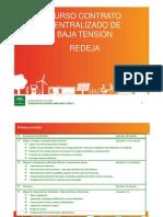 20110207.Indice Curso Contrato_Centralizado_REDEJA_Marzo_Sevilla_2011