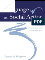 Holdgraves (2008) - Language As Social Action
