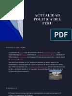 ACTUALIDAD POLITICA DEL PERU