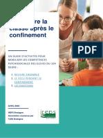 Reprendre La Classe Apres Le Confinement - Guide d Activites Mobilisant Les Competences Psychosociales -Ireps Bretagne - Avril 2020-1