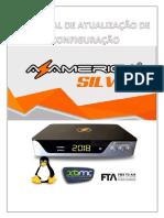 Tutorial Atualização e Configuração Do Azamerica Silver v1.0