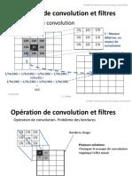 Opération de convolution et filtres. Chapitre 4