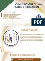 CAPACITACION Y DESARROLLO - CUALIFICACION Y FORMACION
