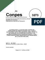 CONPES 3273