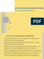 Information systems and  Business ProcessesS2015