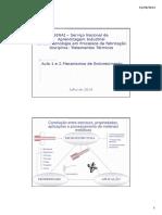 Aula 1 e 2 - Mecanismos de Endurecimento de Metais PDF