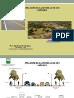 Capacidad Vial Carreteras de Dos Carriles