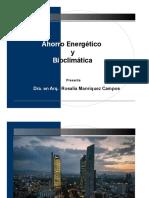 09. Ahorro Energetico y Arquitectura Bioclimática PRESENTACIÓN