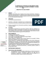 De La Rr 002693-2021 - Directiva-001-2021-Pcmsip Lineamientos Para El Reporte Del Cumplimiento de Las Disposiciones Sobre n