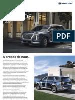 2021 Hyundai PALISADE Product Card FRC